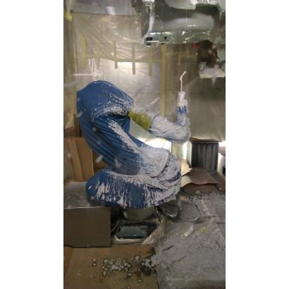 Robotcover bleu 140