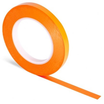 Ruban de masquage ligne fine orange