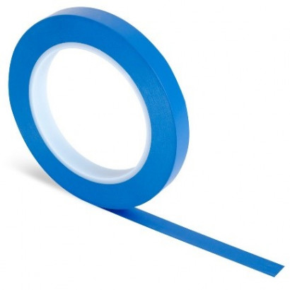 Ruban de masquage ligne fine Bleu